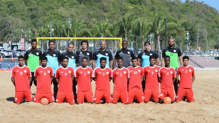 Omani beach football team to take part in Asian Cup game