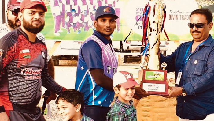 Team Thanal emerge winners of Divine Cricket Club Championship