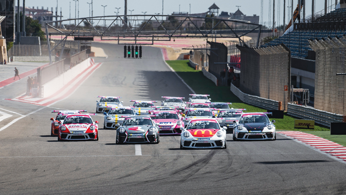 Oman racers bag top spots in Porsche BWT GT3 Cup Challenge