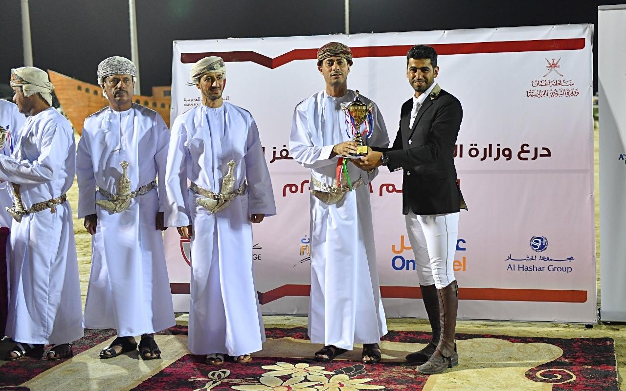 Hamoud Al Touqi takes home Ministry of Sports Affairs shield