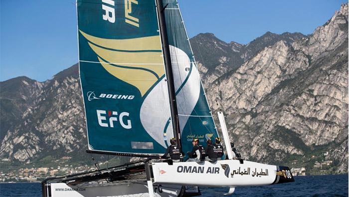 Team Oman Air returns for extreme sailing series