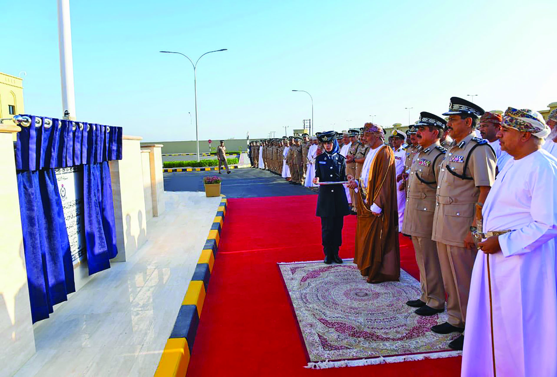 New police station inaugurated in Musannah