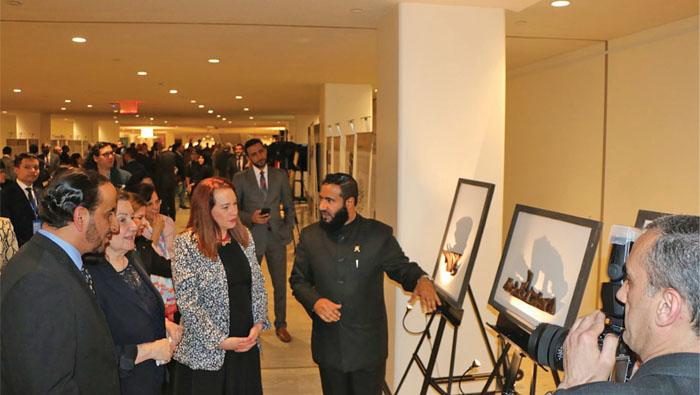 Oman exhibition at UN promotes peace, coexistence