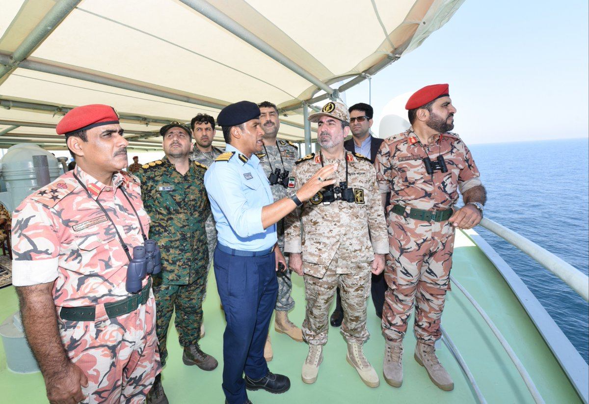 RNO, Iranian Navy hold joint exercise