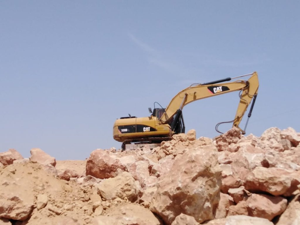 Contractor arrested for illegal excavation work on a mountain