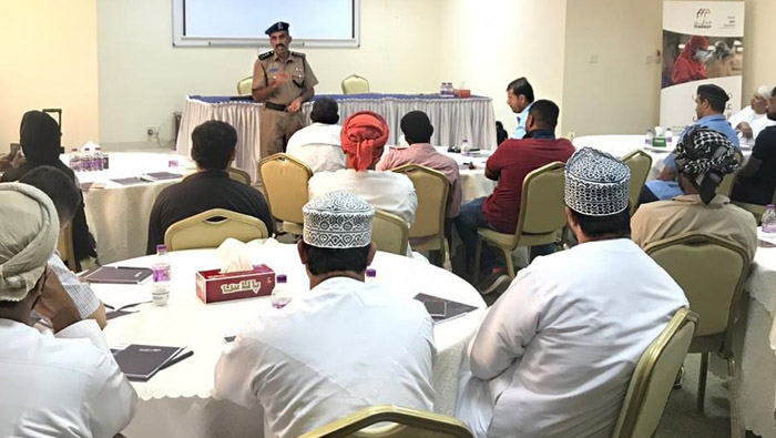 Awareness lectures held in Sur Industrial City