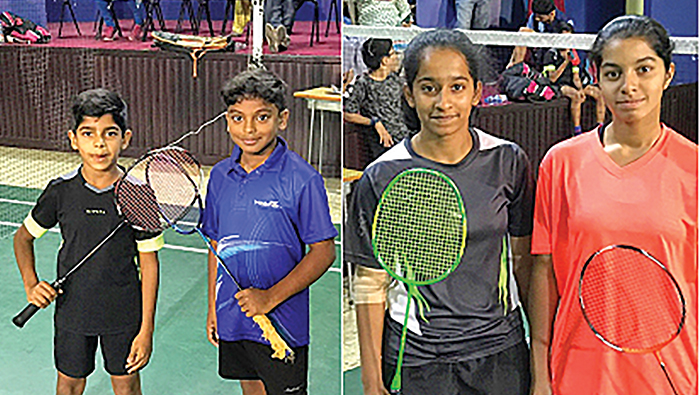 Contestants put up tough fight for under-15 crown