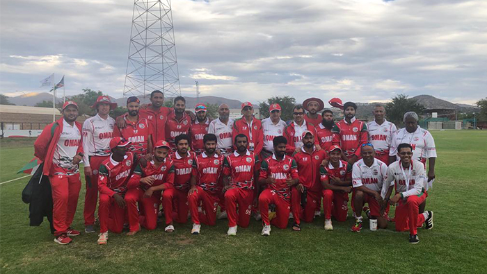 Oman beat USA by six wickets in Namibia