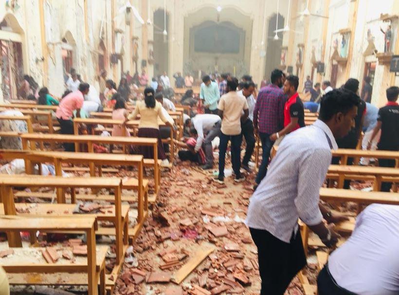 49 killed, over 250 injured as blasts rock Sri Lanka