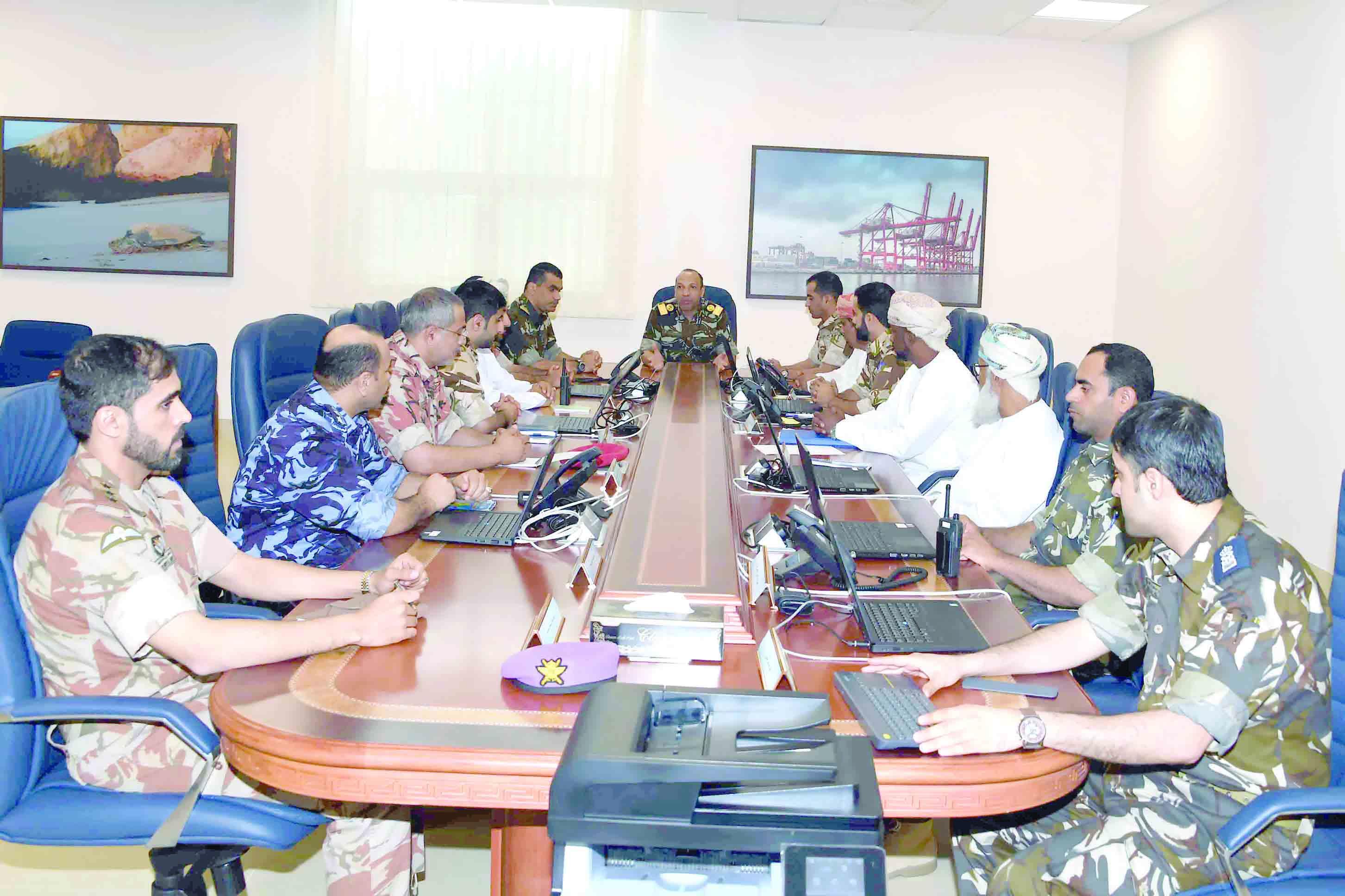 مركز الأمن البحري ينفذ تمرين «الأمن البحري 2019»