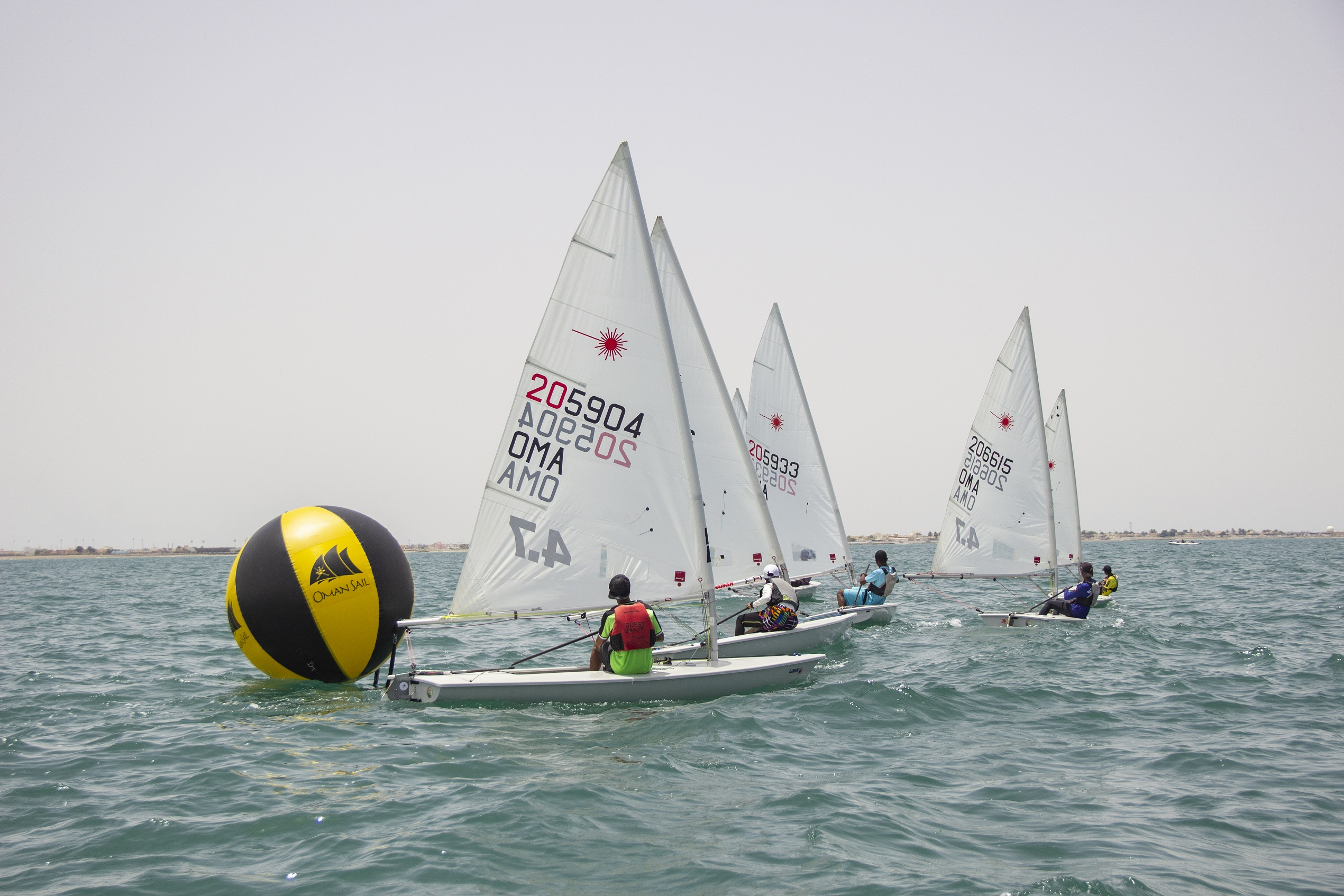 Young racing sailors shine at two-day regatta in Mussanah