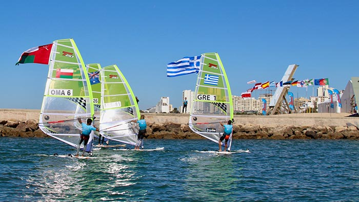 Oman win first ever  silver medal in windsurfing championship