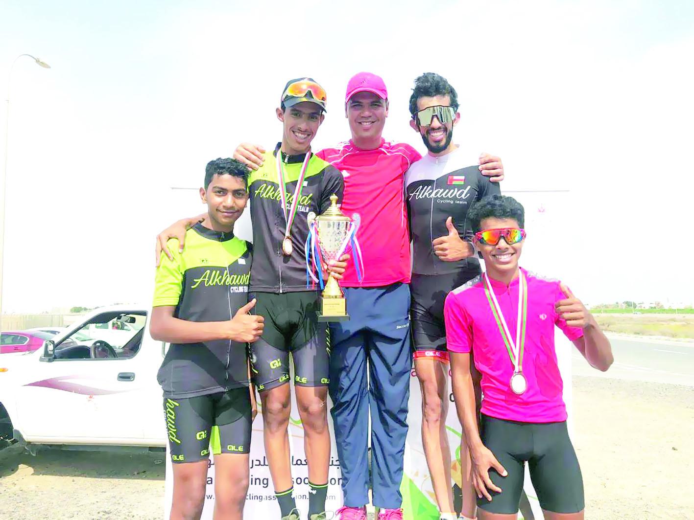 فريق الجيش السلطاني العماني يحقق لقب بطولة عمان للدراجات الهوائية
