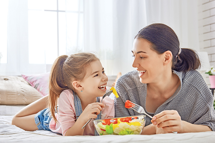 Find common ground with kids about healthy eating