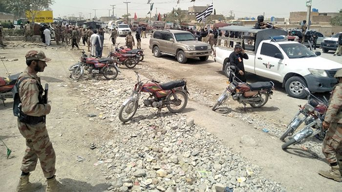 Blast in Quetta kills four