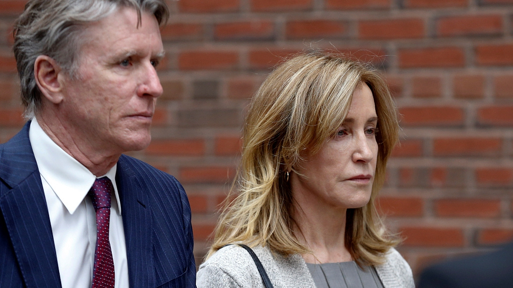 Felicity Huffman pleads guilty in college admissions scandal