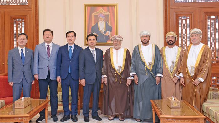 Oman, South Korea explore areas of technical, industrial avenues
