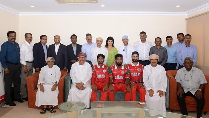 KR honours Muscat Cricket Team players