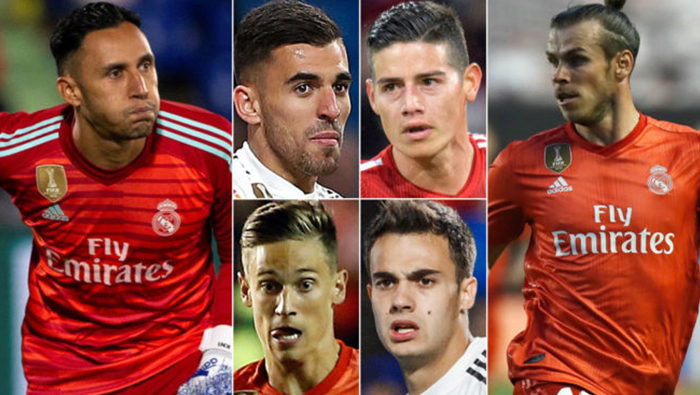 Real Madrid look for homes for 14 players
