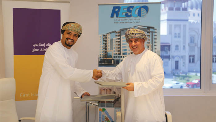 Bank Nizwa, Real Estate Service sign home finance deal
