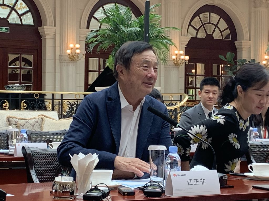 Huawei founder speaks out about company's future