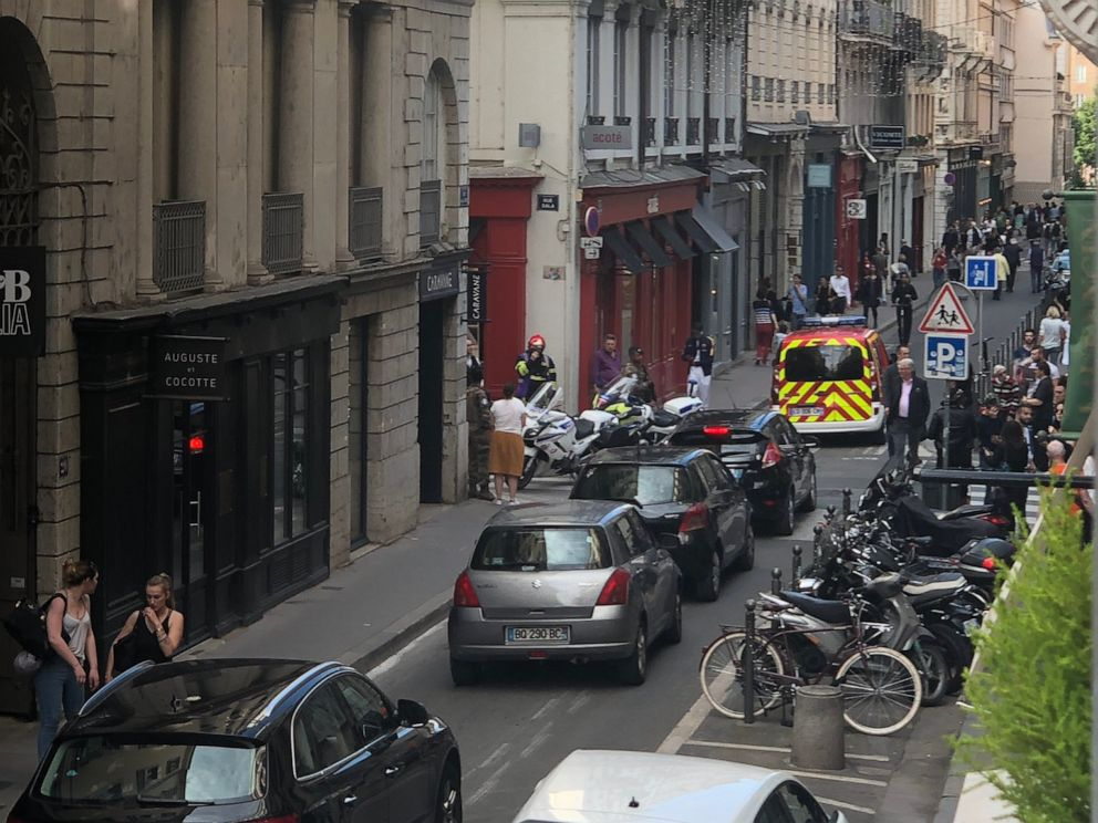 Explosion in France leaves several people injured