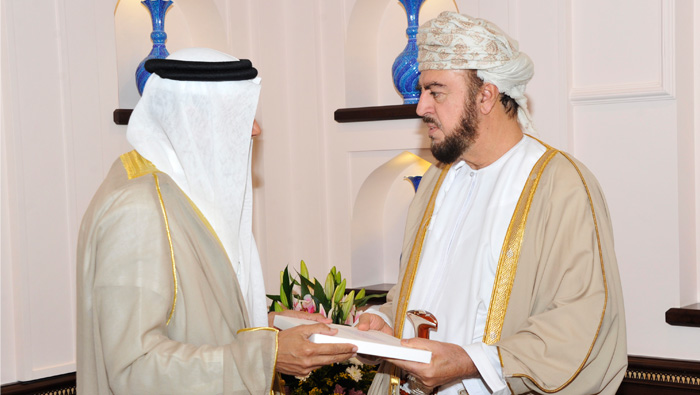 His Majesty the Sultan receives message from King Salman