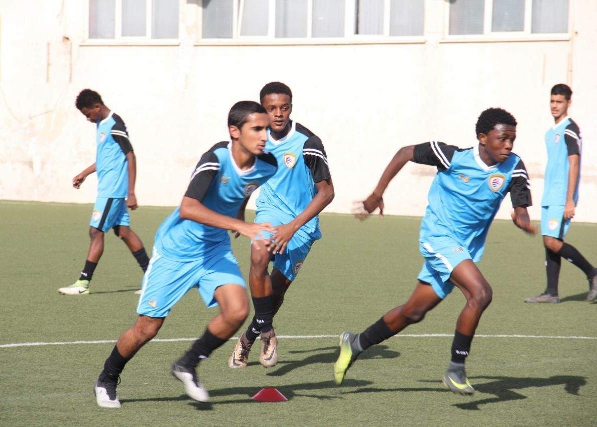 National junior football team continues training in Sohar