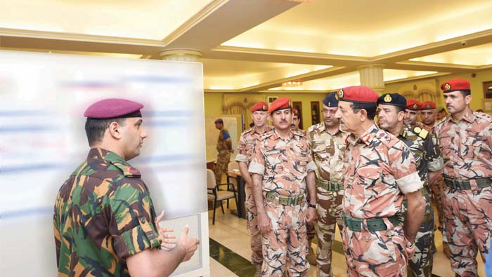 SAF Chief of Staff reviews military exercise progress