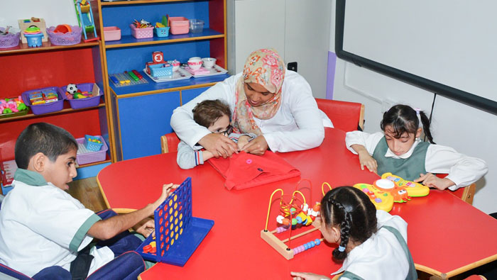 New centre for disabled children in Oman
