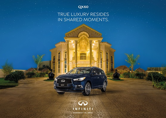 Grab special offer on family-friendly SUV INFINITI QX60