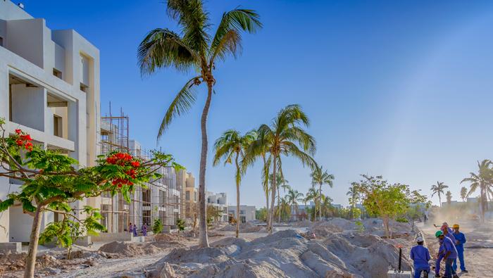 Muriya's residential project Hawana Lagoons Salalah ahead of schedule