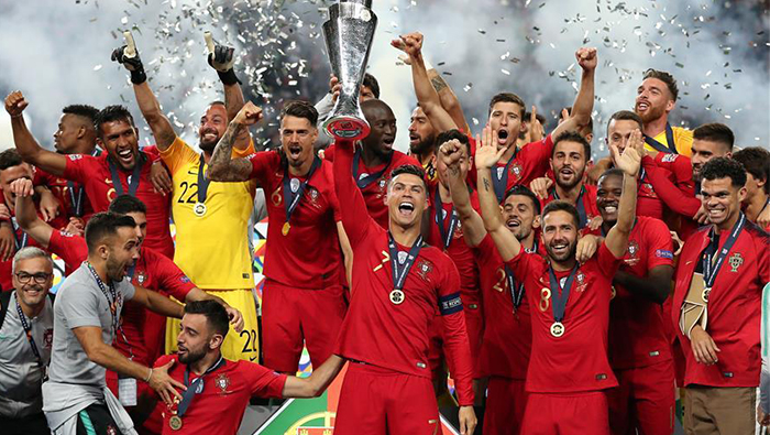 Portugal beat Netherlands to win UEFA Nations League title