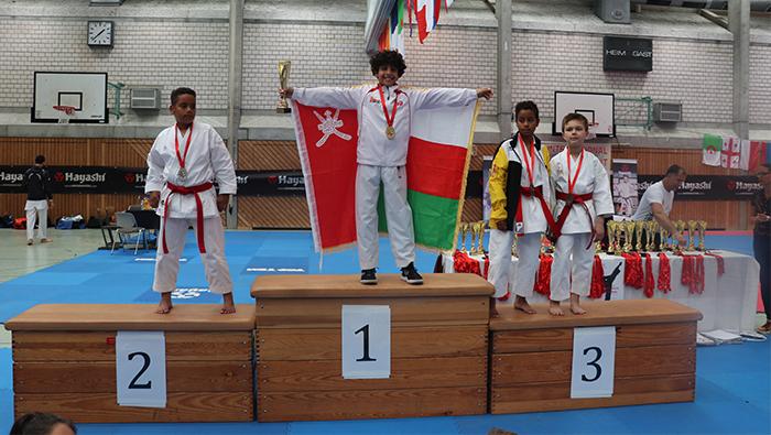 Hisham Al Busaidi wins Hayashi Cup in Germany