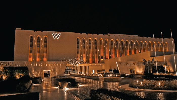 W Muscat hotel to open on Wednesday