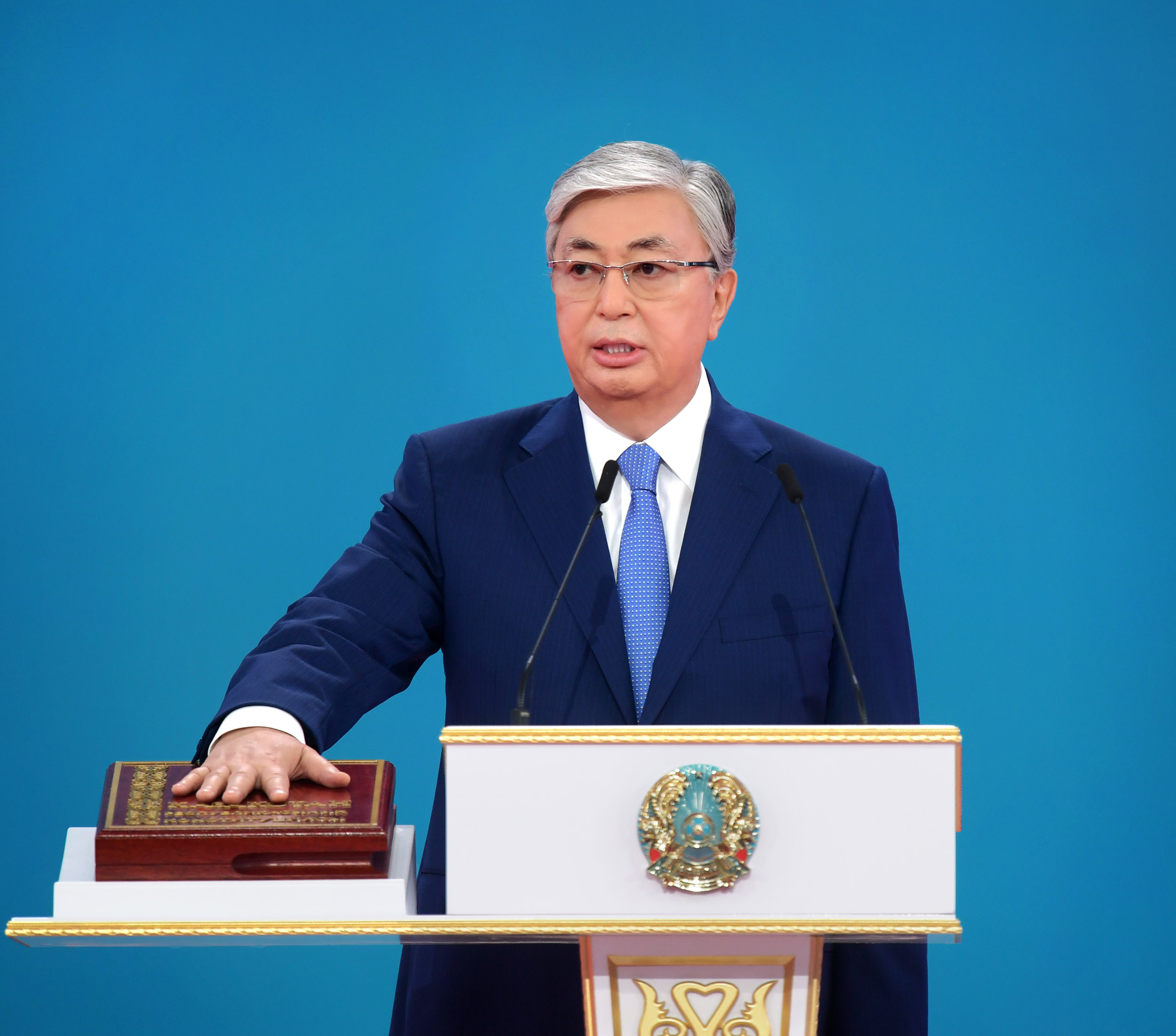 Tokayev officially sworn in as Kazakhstan's new President