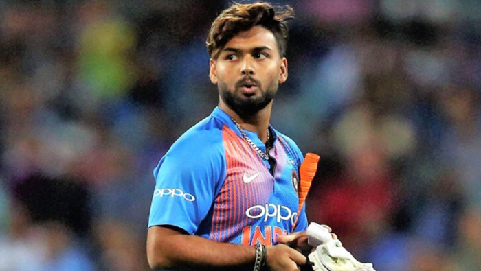 India bring in Rishabh Pant as cover for Shikhar Dhawan