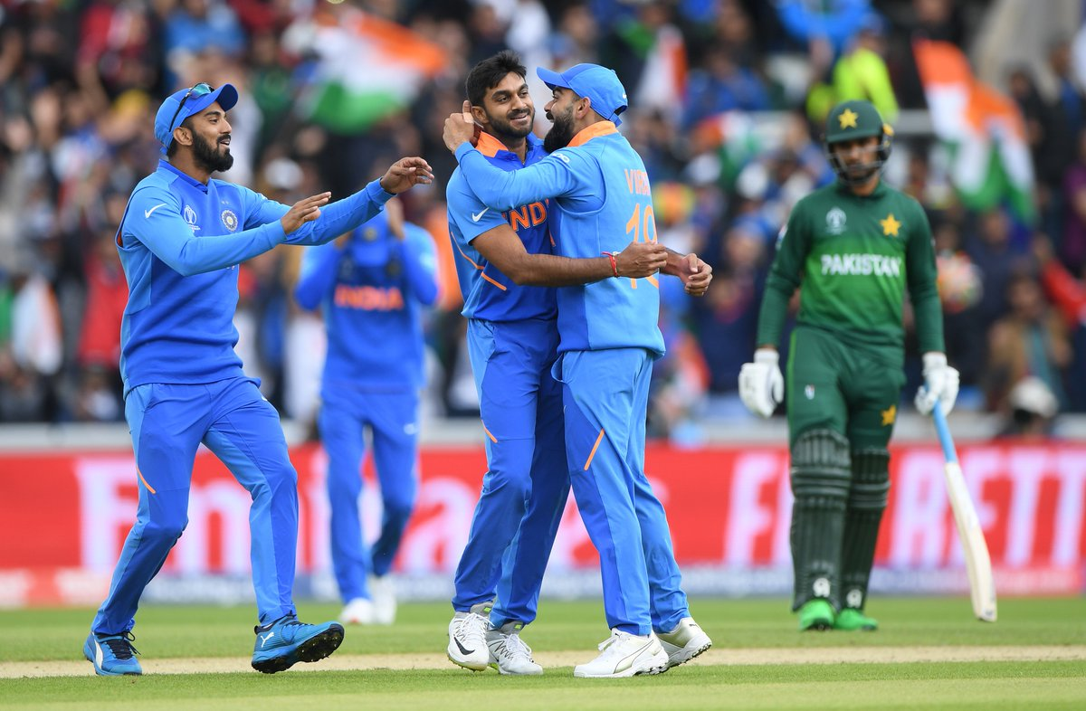 ICC Cricket World Cup: India beat Pakistan by 89 runs in rain-curtailed match