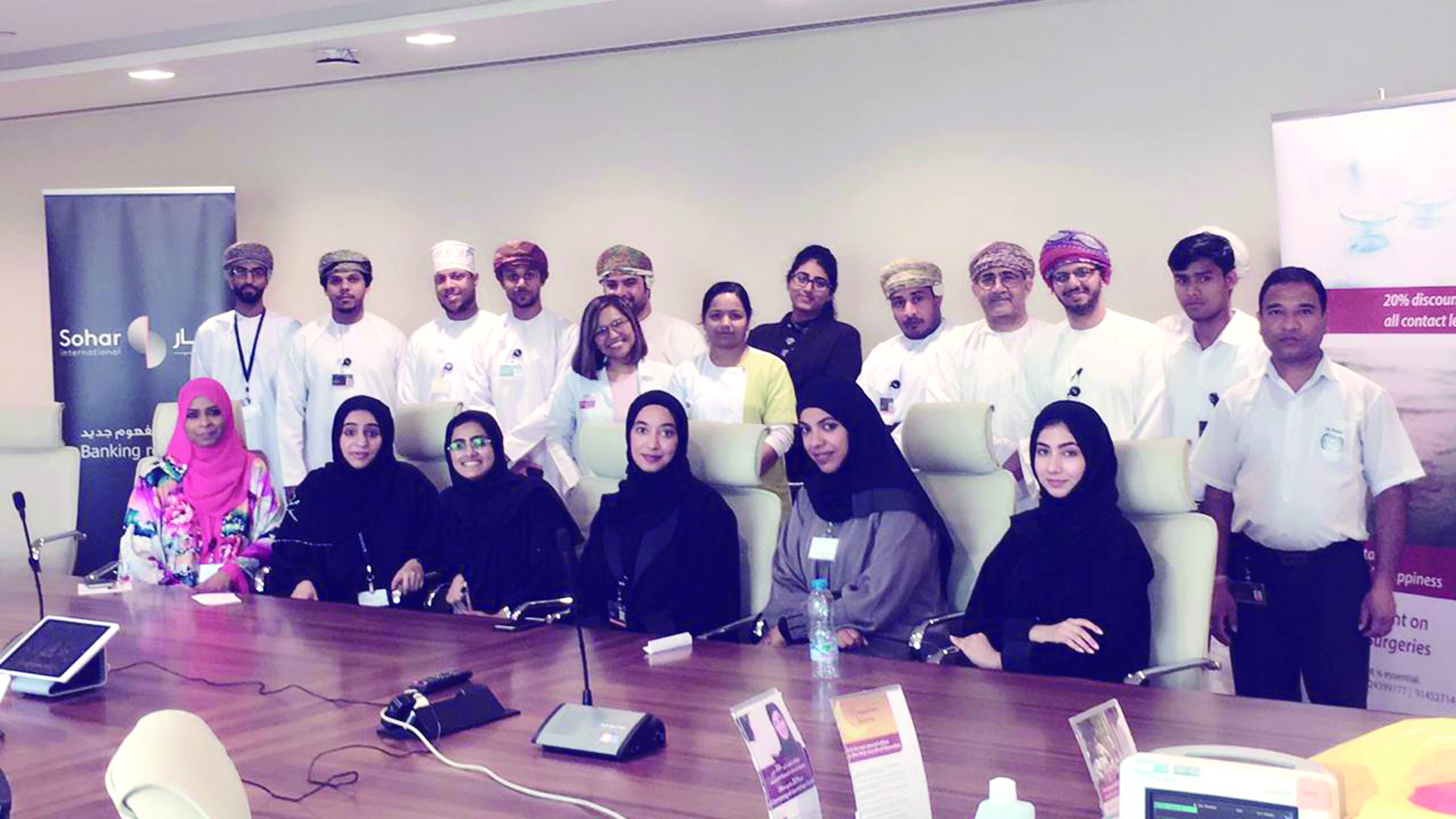 صحار الدولي يختتم حملة للتوعية الصحية للموظفين