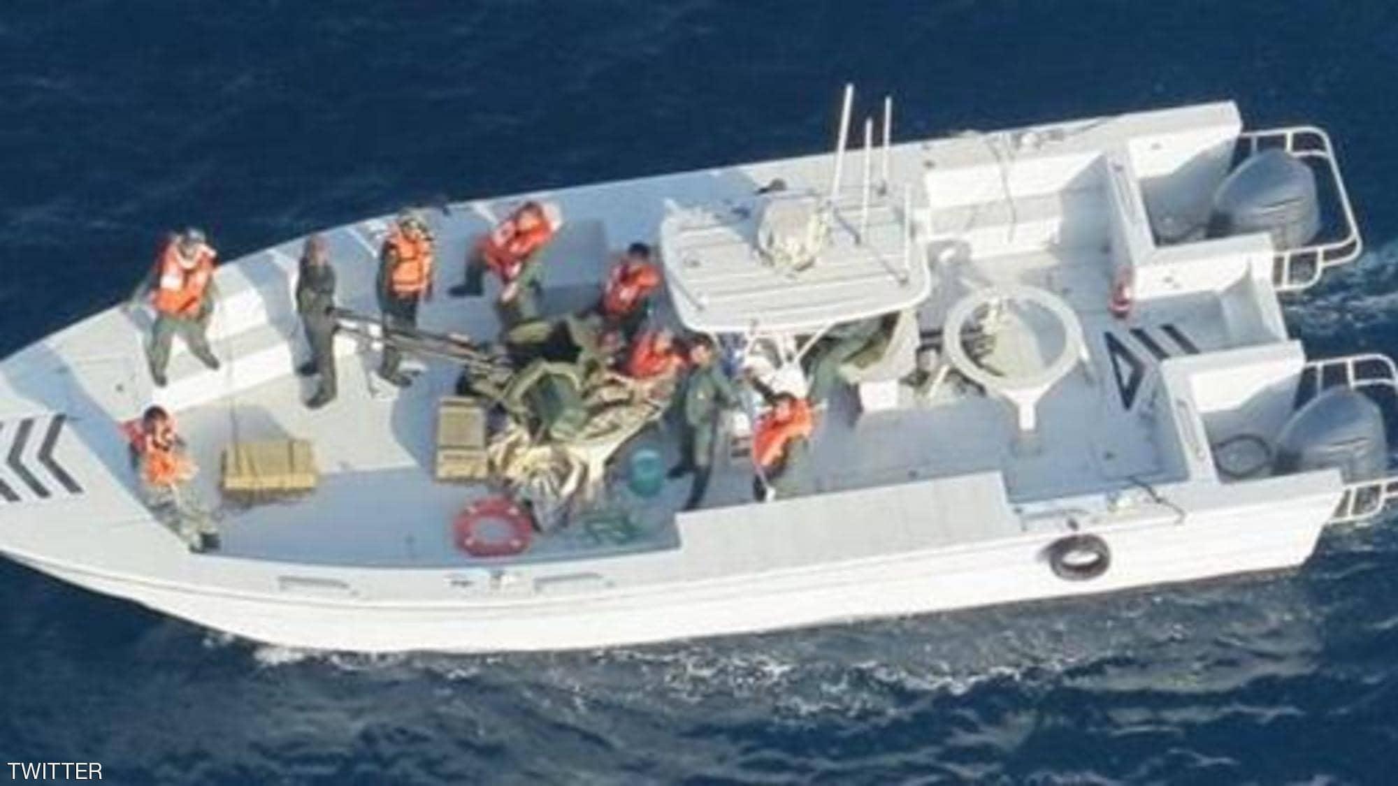 الجيش الأمريكي ينشر صورا جديدة تدين إيران في هجوم بحر عمان