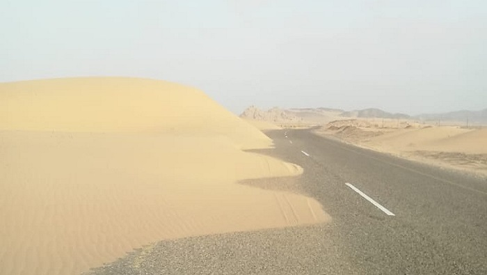 ROP warns users to be careful on this road