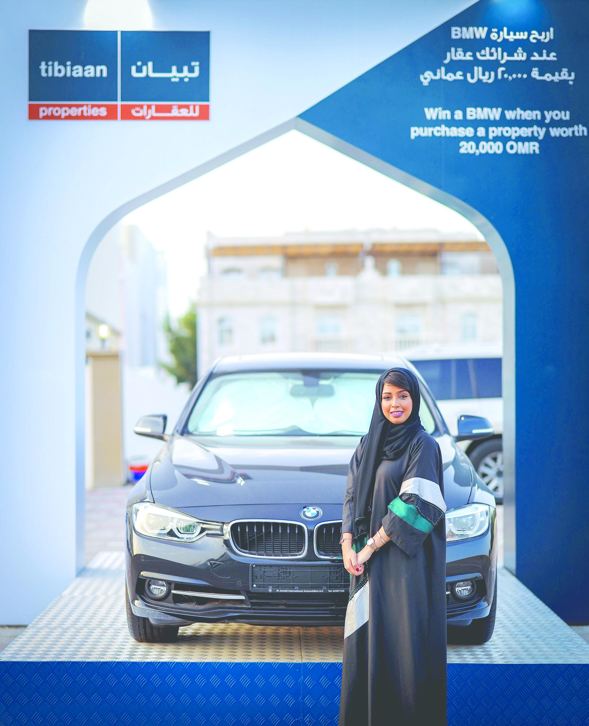 تبيان للعقارات تقدم سيارة BMW 2019 كجائزة كبرى لمشتري العقارات