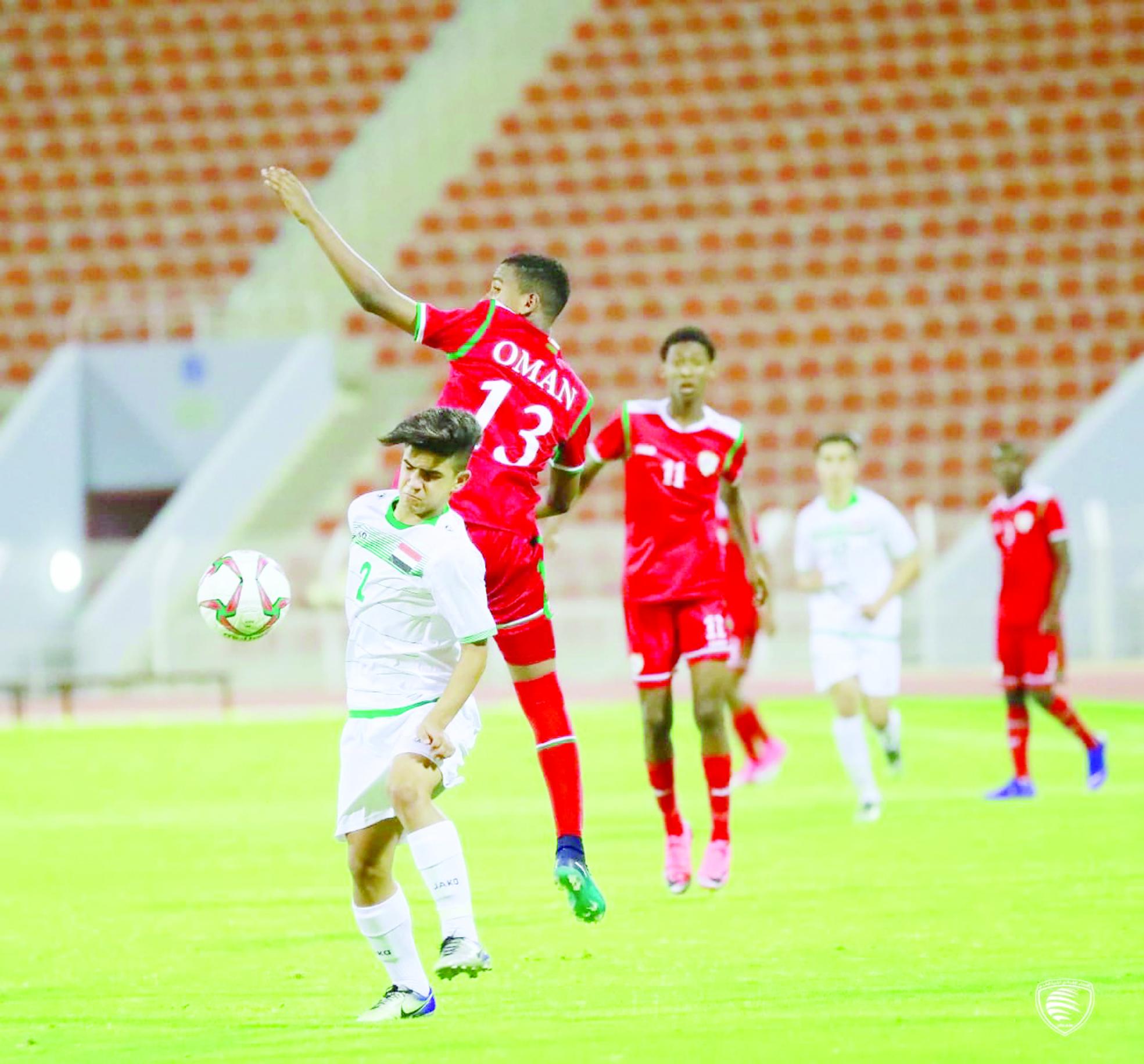 منتخبنا للناشئين لكرة القدم يواجه الأردن في غرب آسيا
