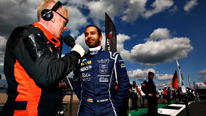 Al Harthy ready to shine during two-day Spa test