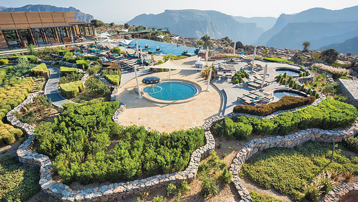 Jabal Akhdar Reserve's unique flora and fauna attract tourists