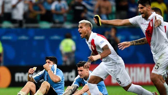 Peru shock Uruguay to make Copa America semifinal