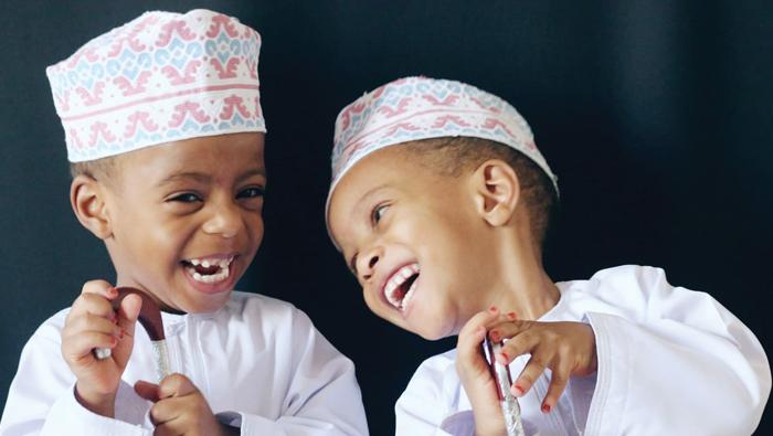 Twice as nice multiple births celebration in Oman