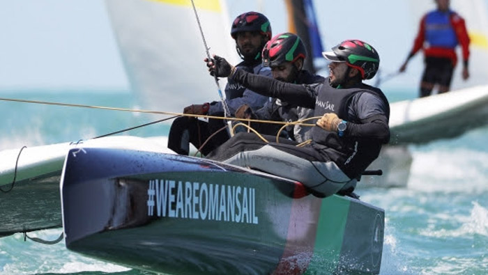 Great comeback by Oman Sail teams, stay on course for Tour Voile target