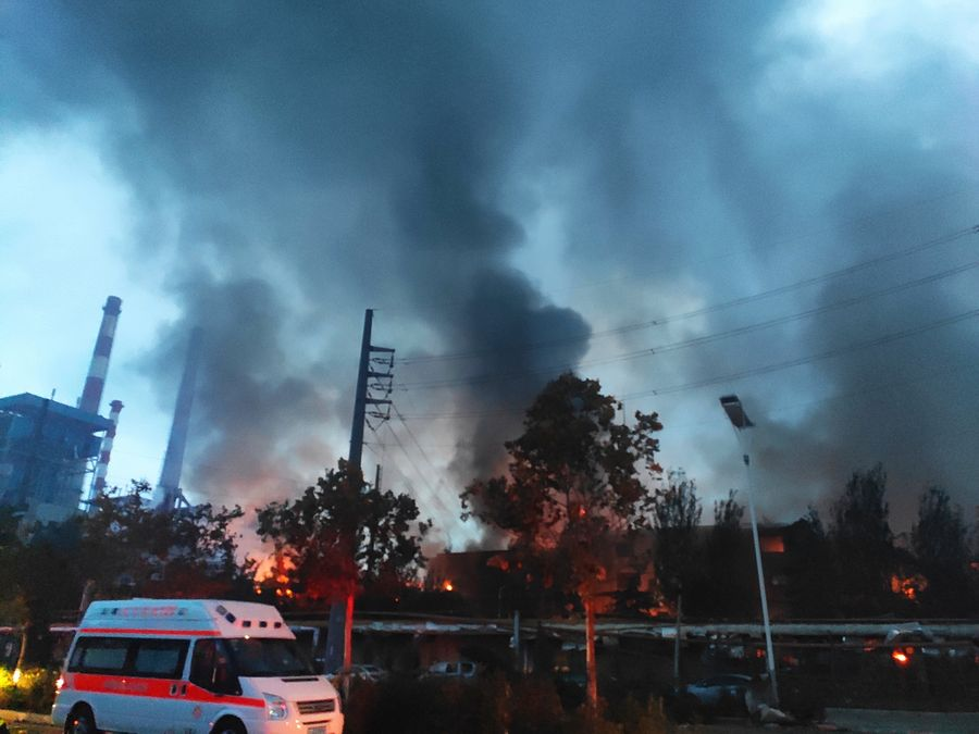 At least 15 killed in China gas plant explosion