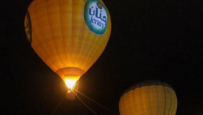 Balloon carnival still flying high